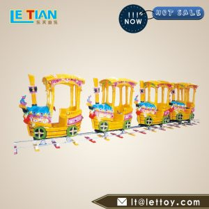 Electric toy train have a relatively high ornamental value. It is made of special fiberglass and is durable. It can bring you long-term good returns.