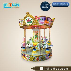Mini angel carousel is environmentally friendly, safe, corrosion resistant and stable. It can be customized according to the site conditions.