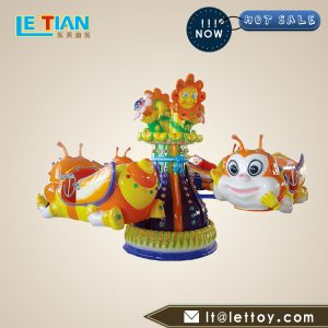The Revolving bees hydraulic aircraft is a novel, gorgeous, realistic sound, and the passengers sit up and down, loved by children and teenagers.