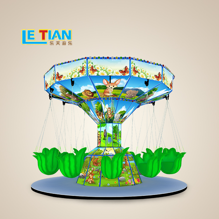 Forest family flying chair  is deeply loved by the passengers,is very popular in major amusement parks and are very good investment projects.