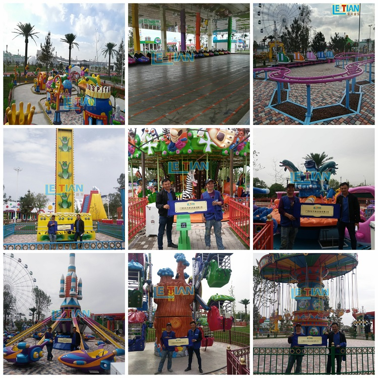 LETIAN is a company specializing in amusement equipment,we can provide you with one-stop service and make playground whole site design for you.